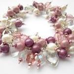 Cluster Bracelet, Pearl Bra..