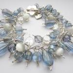 Pale Blue Bracelet, Blue an..